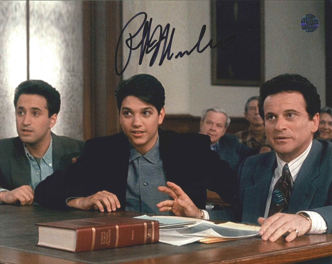 Ralph Macchio Signed My Cousin Vinny Photo