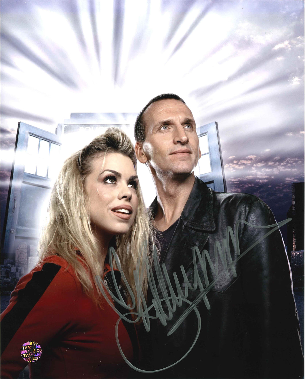 Billie Piper Signed Doctor Who Photo