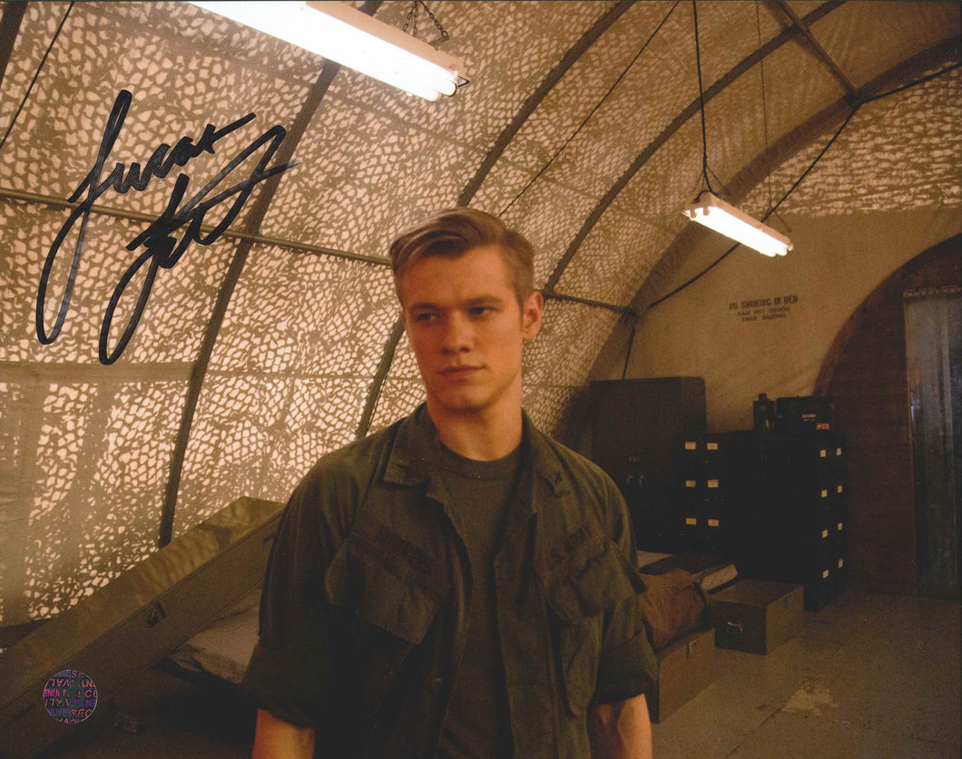 Lucas Till Signed X-Men Photo