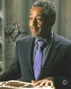Giancarlo Esposito Signed Once Upon a Time Photo