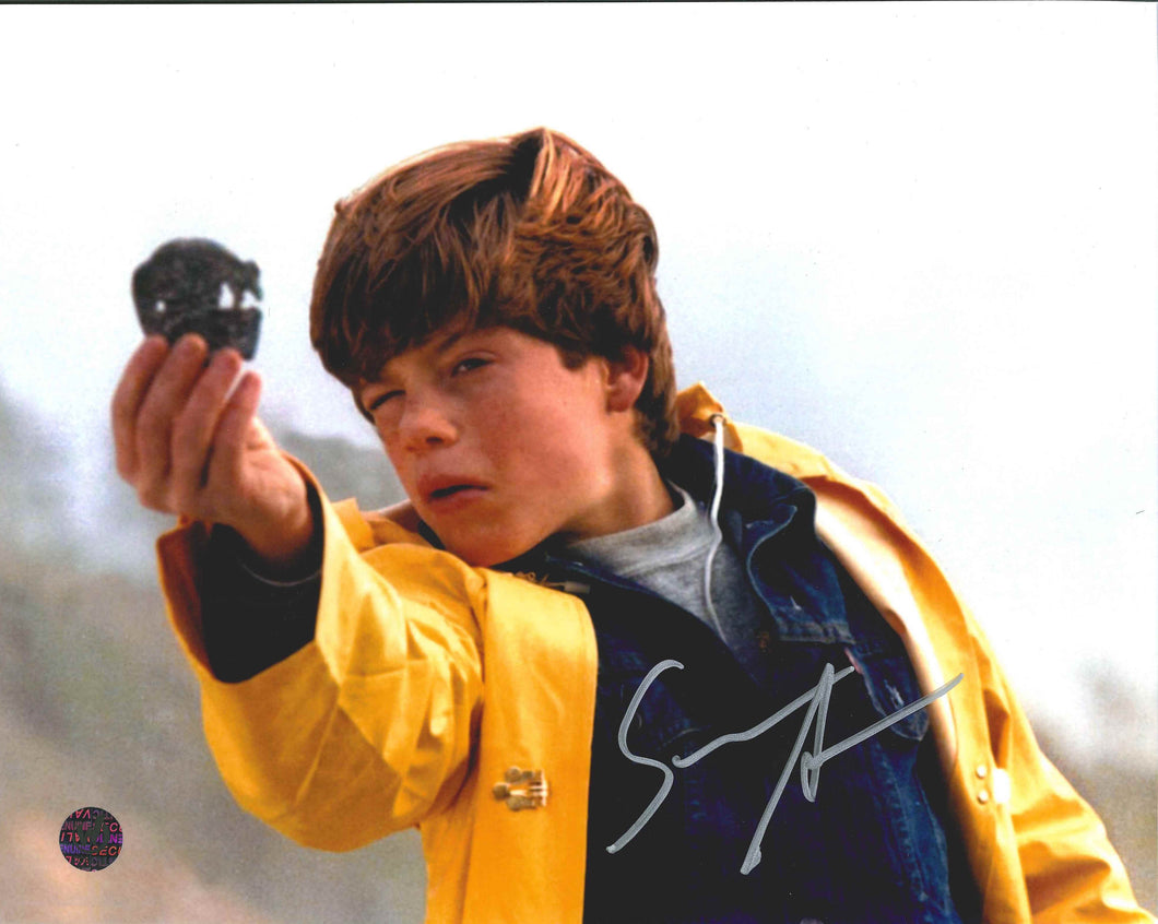 Sean Astin Signed The Goonies Photo