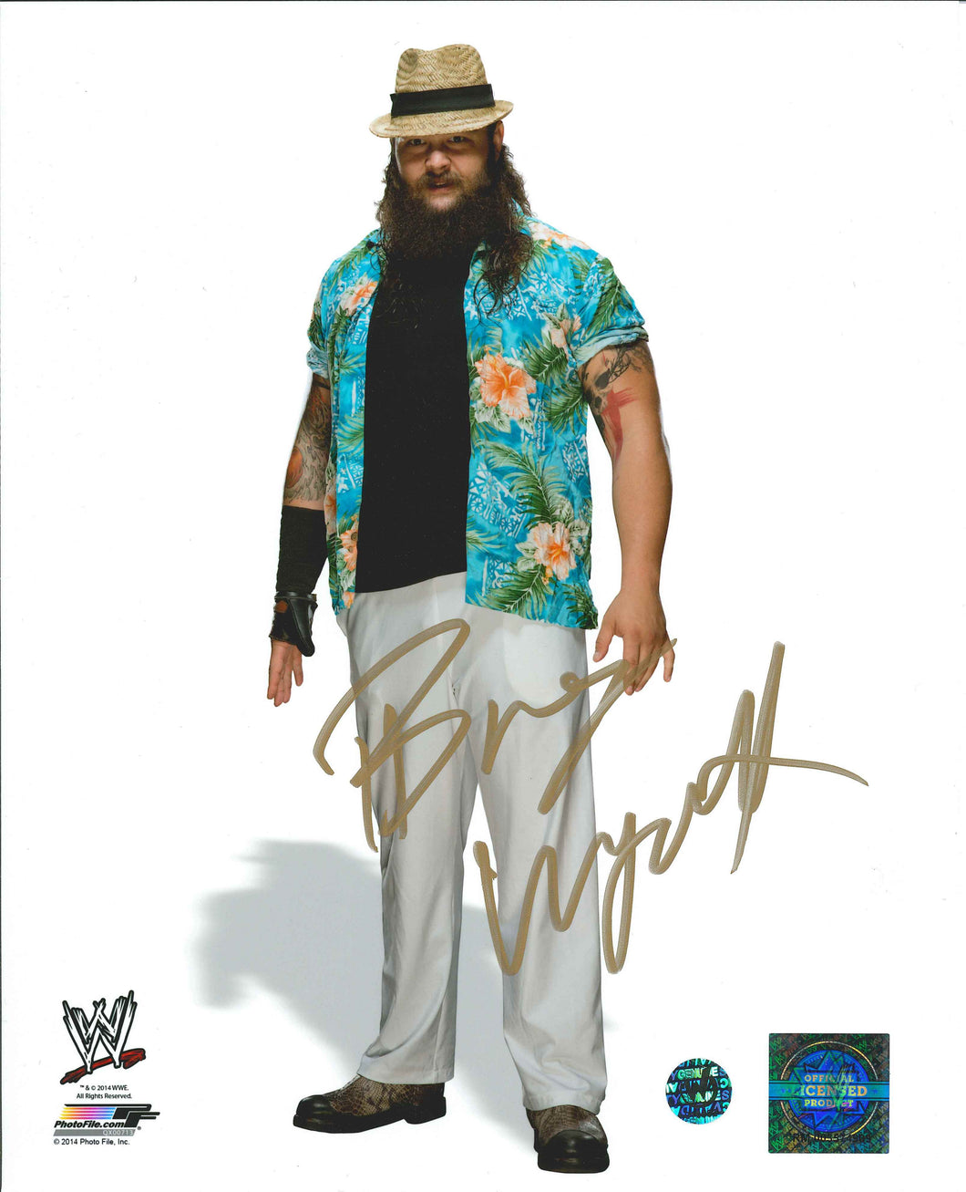 Bray Wyatt Signed WWE Photo