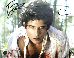 Tyler Posey Signed Teen Wolf Photo