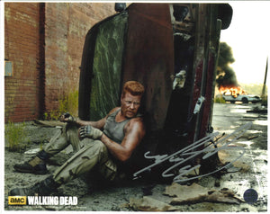 Michael Cudlitz Signed The Walking Dead Photo