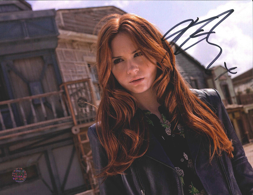 Karen Gillan Signed Doctor Who Photo