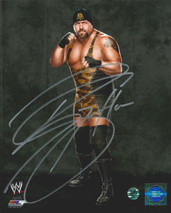 Big Show Signed WWE Photo