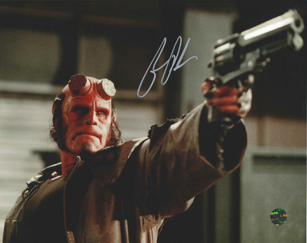 Ron Perlman Signed Hellboy Photo