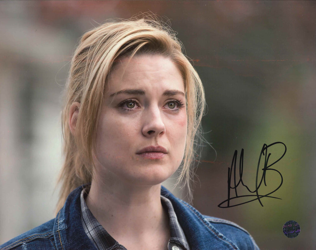 Alexandra Breckenridge Signed The Walking Dead Photo