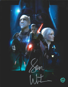 Sam Witwer Signed Star Wars Photo