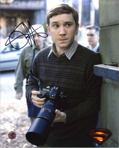 Sam Huntington Signed Superman Returns Photo