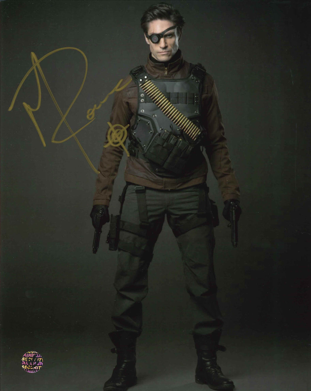 Michael Rowe Signed Arrow Photo