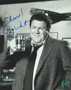 George Wendt Signed Cheers Photo