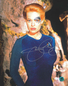 Jeri Ryan Signed Star Trek Photo