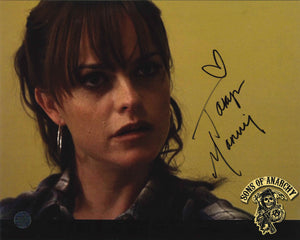 Taryn Manning Signed Sons of Anarchy Photo
