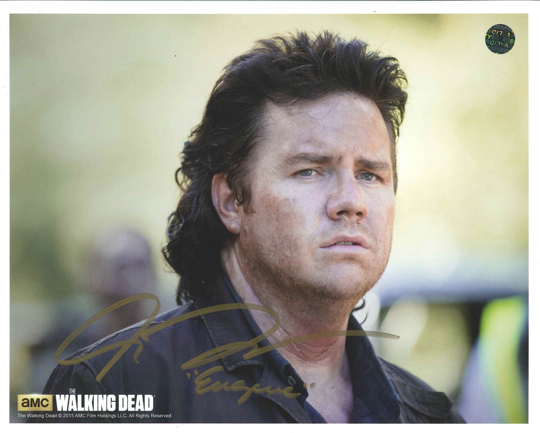 Josh McDermitt Signed The Walking Dead Photo