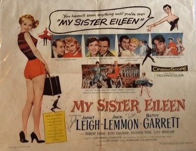 My Sister Eileen Signed Poster