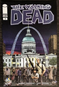 The Walking Dead #1 Wizard World St. Louis 2015 Color Edition - Lot of 10