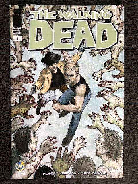 The Walking Dead #1 Wizard World San Jose Color Edition - Lot of 10