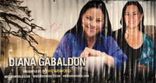 Load image into Gallery viewer, Diana Gabaldon Signed Wizard World Banner