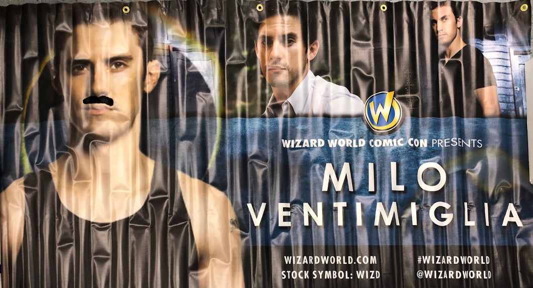 Milo Ventimiglia Wizard World Banner