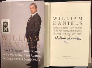 William Daniels Signed Autobiography