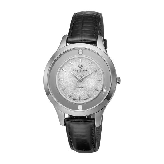 Magic, a Ladies Collect Watch with a Moving Real Diamond
