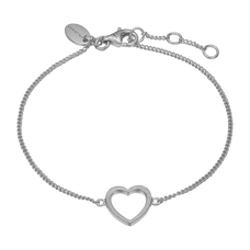 Load image into Gallery viewer, Magic Heart Bracelet Silver