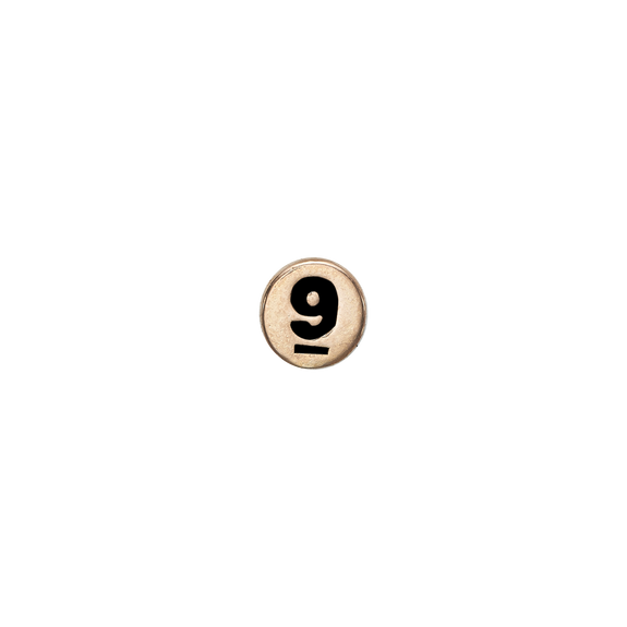 Number 9 Watch Element Gold