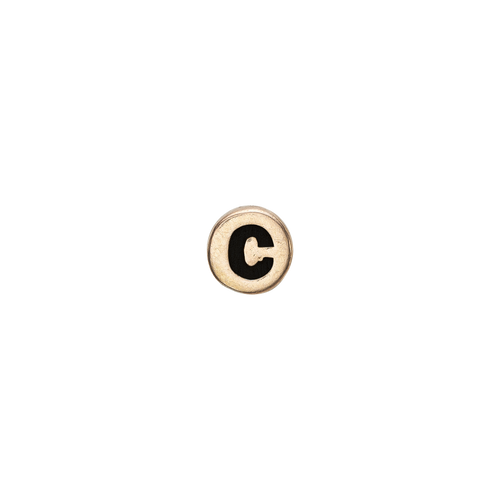 Letter C Watch Element Gold