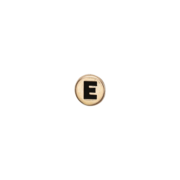 Letter E Watch Element Gold