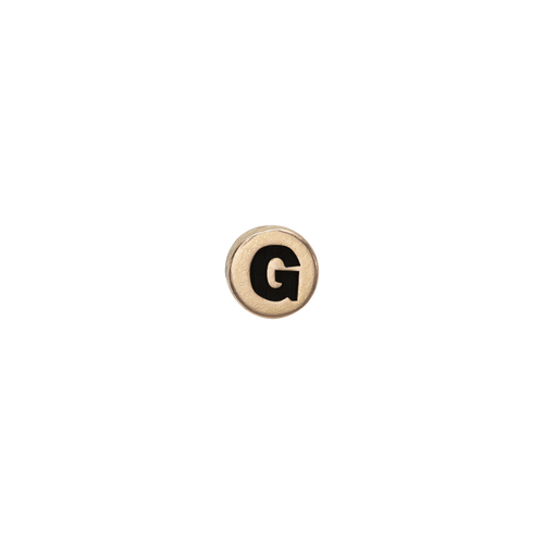 Letter G Watch Element Gold