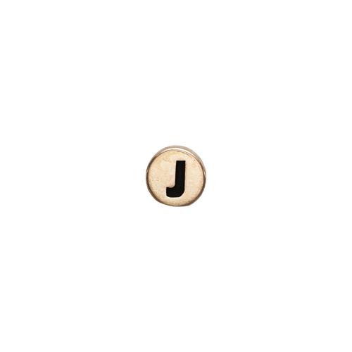 Letter J Watch Element Gold