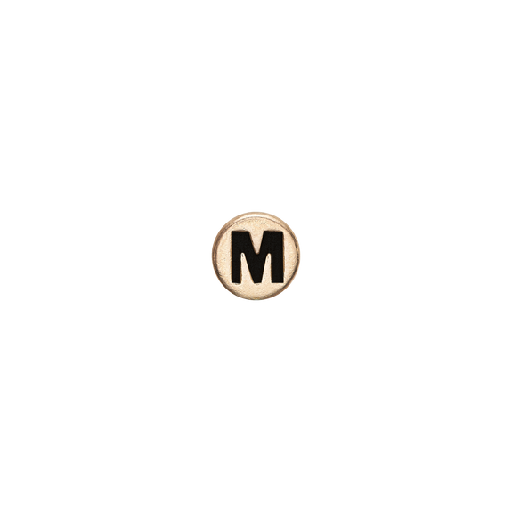Letter M Watch Element Gold