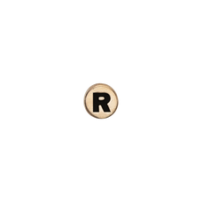 Load image into Gallery viewer, Letter R Watch Element Gold