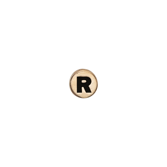 Letter R Watch Element Gold