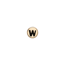 Load image into Gallery viewer, Letter W Watch Element Gold