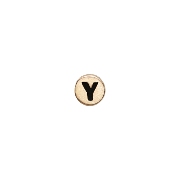 Letter Y Watch Element Gold