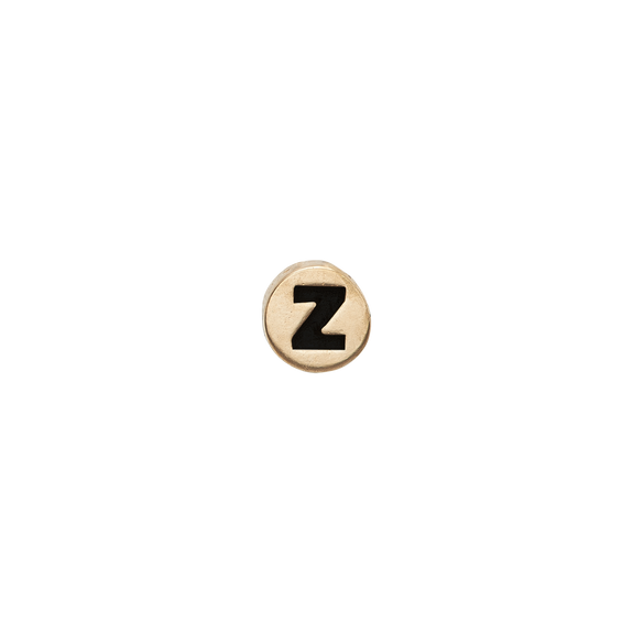 Letter Z Watch Element Gold