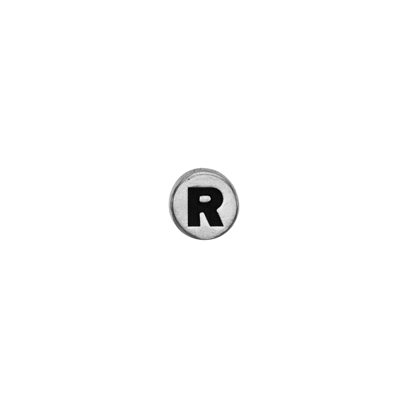 Letter R Watch Element Silver
