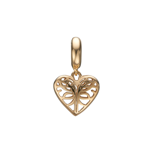 Beloved Hanging Charm Gold