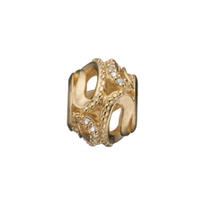 Load image into Gallery viewer, Magic Nature Bead Charm Gold with Gemstones