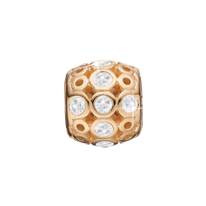 Load image into Gallery viewer, Magic Bead Charm Gold with Gemstones