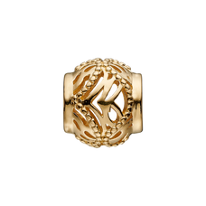 Load image into Gallery viewer, Drawing inspiration and combining the intricate and complex beauty of the corals that appear to be woven together, this expertly handcrafted Coral Lace charm reminds us not only of the fragile environment but also of the beauty that surrounds us and that needs our protection. For that special touch and to make your charm even more special, all the Charms in our collection are delicately and expertly handcrafted in 925 Sterling Silver and finished with an 18ct Gold or Rhodium Plating