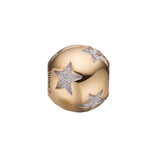 Load image into Gallery viewer, Sparkling Starry Night Bead Charm Gold