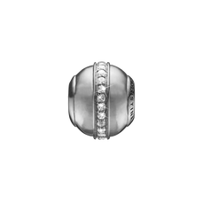 Load image into Gallery viewer, Topaz Magic Bead Charm Silver with Gemstones