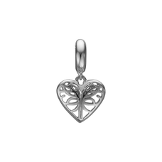 Load image into Gallery viewer, Beloved Hanging Charm Silver