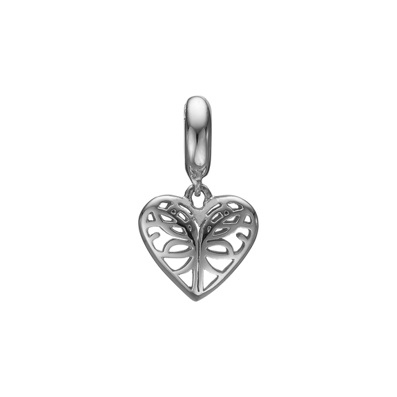 Beloved Hanging Charm Silver