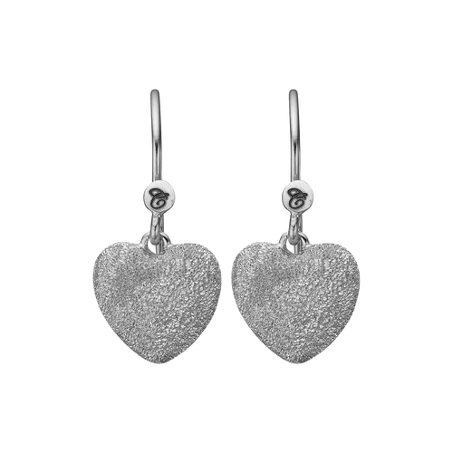 Happy Hearts Hanging Earrings Gold