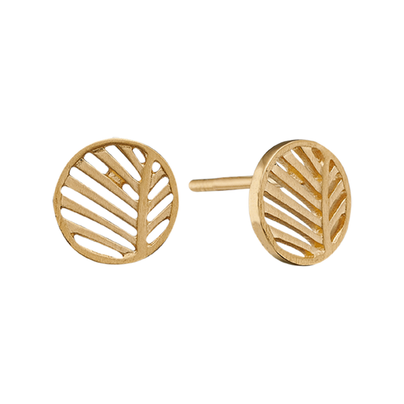 Across eons and cultures, palm leaves symbolised victory with integrity, a meaning reinforced when we look skyward to see the leaves catch the wind.  For that special touch all the pieces in our Jewellery Collection is delicately handcrafted in 925 Sterling Silver and finished with an 18ct Gold Plating.