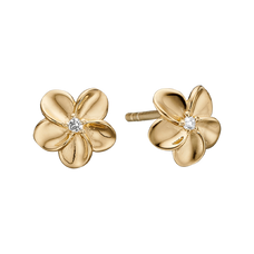 Load image into Gallery viewer, Flowers mean so many different things to so many different people.  What will your flowers mean to you?  For that special touch every piece in our Jewellery Collection is delicately handcrafted in 925 Sterling Silver and finished with an 18ct Gold  Plating